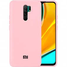 Силикон Original Case Xiaomi Redmi 9 (Розовый)