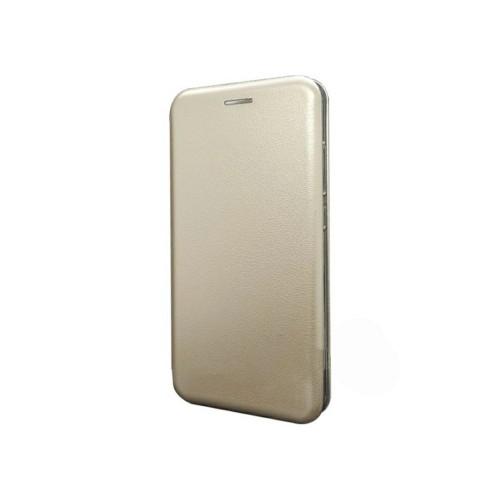 Чехол-книга Meizu M6 Note Metall Wallet Gold