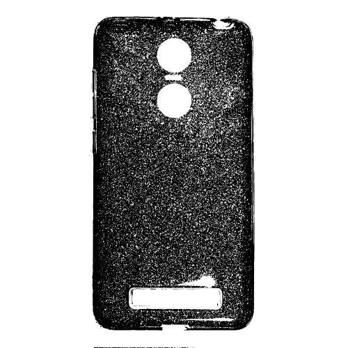 Силиконовый чехол Twins Xiaomi Redmi Note 4x (Черный)