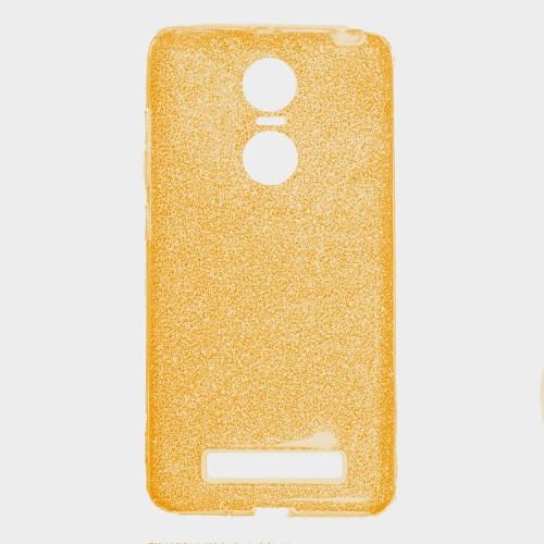 Силиконовый чехол Twins Xiaomi Redmi Note 4x (Золотой)