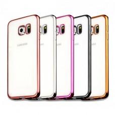 Силиконовый чехол UMKU Line Samsung S6 Edge
