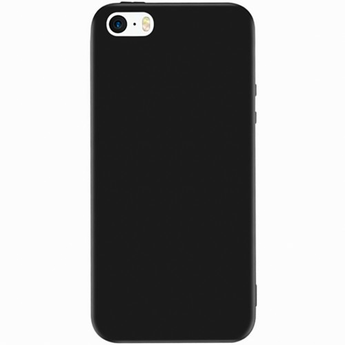 Силикон Graphite Apple iPhone 5 / 5s / 5c / SE (Чёрный)
