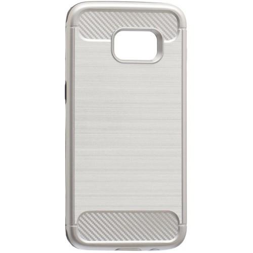 Бампер Motomo X6 Samsung S7 Edge (стальной)
