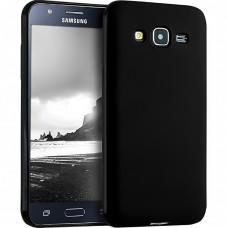 Силикон iNavi Color Samsung Galaxy J5 (2015) J500 (черный)