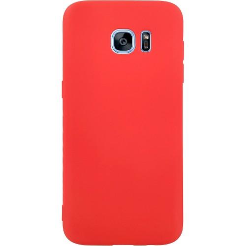 Силиконовый чехол iNavi Color Samsung Galaxy S7 Edge (Карасный)
