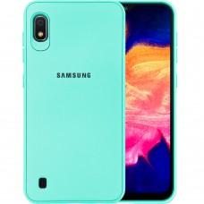 Силикон Junket Case Samsung Galaxy A10 (2019) (Бирюзовый)
