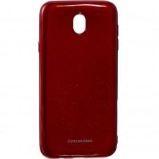Силикон Molan Shining Samsung Galaxy J7 (2017) J730 (Красный)