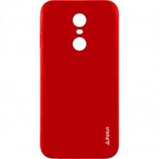 Силикон iNavi Color Xiaomi Redmi 4 (Красный)