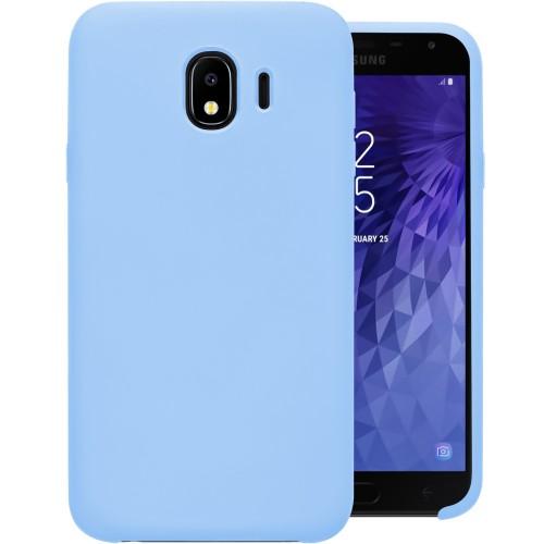 Силикон Original Case Samsung Galaxy J4 (2018) J400 (Голубой)