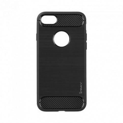 Силиконовый чехол iPaky Carbon Case iPhone 7 (серый)