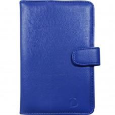 "Чехол-книжка Universal Leather Pad 7"" (Синий)"