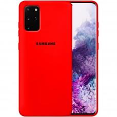 Силикон Original Case Samsung Galaxy S20 Plus (Красный)