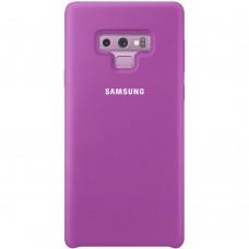 Силикон Original Case HQ Samsung Galaxy Note 9 (Сиреневый)
