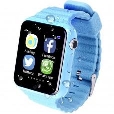 Детские смарт-часы Smart Baby Watch V7K (Blue)