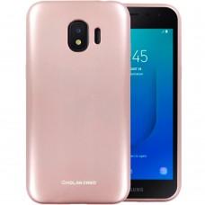 Силикон Molan Shining Samsung Galaxy J2 (2018) J250 (Розовый)