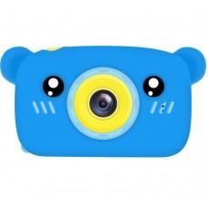 Детская фотокамера Baby Photo Camera Bear (Blue) Gadgik