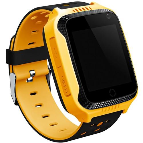 Детские смарт-часы Smart Baby Watch A15S GPS (Yellow)