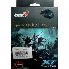 Мышь проводная игровая Genius X7 1600 DPI (Чёрный)
