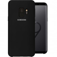 Силикон Original Case (HQ) Samsung Galaxy S9 (Чёрный)
