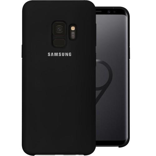 Силикон Original Case (HQ) Samsung Galaxy S9 (Чёрный)