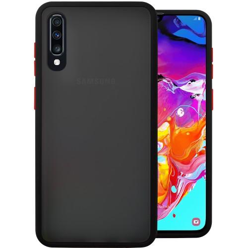 Накладка Totu Gingle Series Samsung Galaxy A70 (2019) (Чёрный)