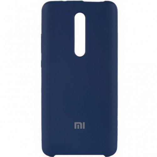 Силиконовый чехол Original Case Xiaomi Redmi MI9T / K20 Pro (Тёмно-синий)