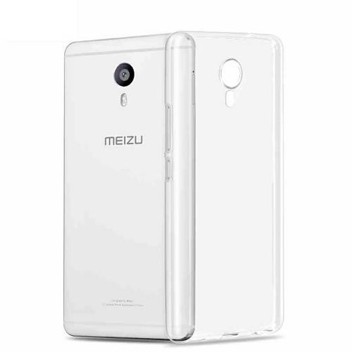 Силиконовый чехол WS Meizu M3 Max (прозрачный)