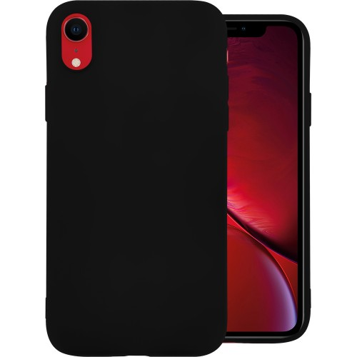 Силикон Graphite Apple iPhone XR (Чёрный)
