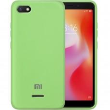 Силикон Original Case Xiaomi Redmi 6A (Зелёный)