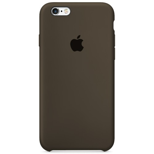 Силиконовый чехол Original Case Apple iPhone 6 / 6s (03) Dark Olive
