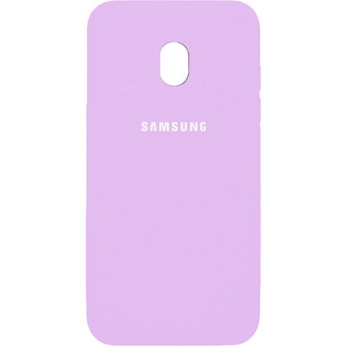 Силиконовый чехол Original Case Samsung Galaxy J7 (2017) J730 Розовый