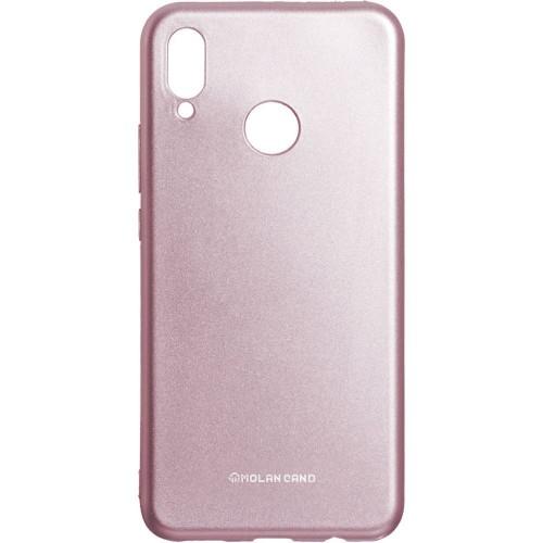 Силиконовый чехол Molan Shining Huawei P Smart Plus (Розовый)