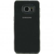 Силикон QU Case Samsung S6 Edge (Серый)