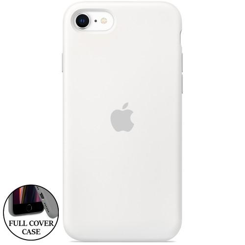 Силикон Original Round Case Apple iPhone 7 / 8 (06) White