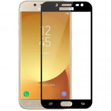 Защитное стекло для Samsung Galaxy J7 (2016) J710 Black