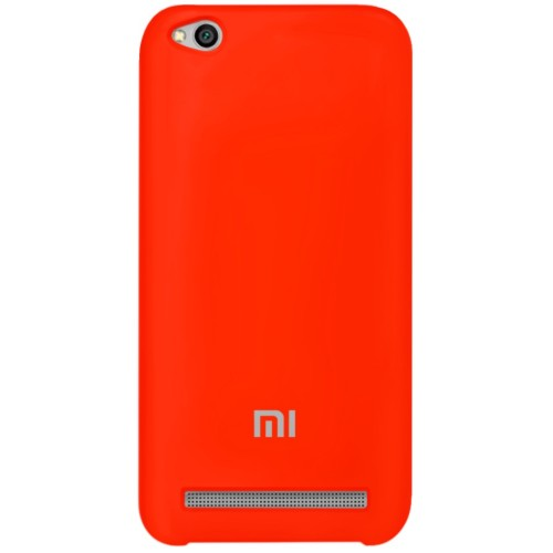 Силикон Original Case Xiaomi Redmi 5a (Красный)