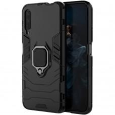 Бронь-чехол Ring Armor Case Huawei Honor 9X (Чёрный)