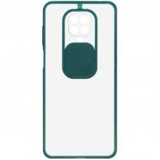 Накладка Totu Curtain Xiaomi Redmi Note 9S / Note 9 Pro (Тёмно-зелёный)