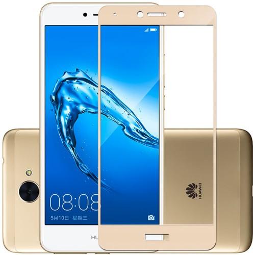Стекло 3D Huawei Y7 (2017) Gold