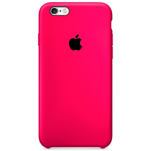 Силикон Original Case Apple iPhone 6 / 6s (31) Barbie Pink