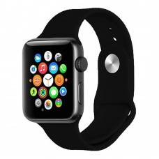 Ремешок Apple Watch Silicone 42 / 44mm (07) Black