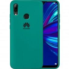 Силикон Original Case Huawei P Smart (2019) / Honor 10 Lite (Тёмно-зелёный)