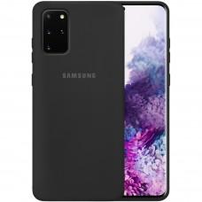 Силикон Original Case Samsung Galaxy S20 Plus (Чёрный)