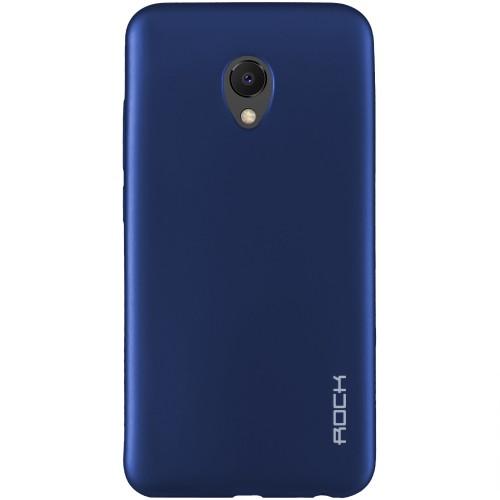 Силиконовый чехол Rock Matte Meizu M6s (Blue)