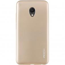 Силиконовый чехол Rock Matte Meizu M6s (Gold)