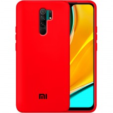 Силикон Original Case Xiaomi Redmi 9 (Красный)