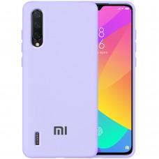 Силикон Original 360 Case Logo Xiaomi Mi9 Lite / Mi CC9 (Фиалковый)
