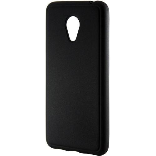 Силиконовый чехол Graphite Meizu M5 (черный)