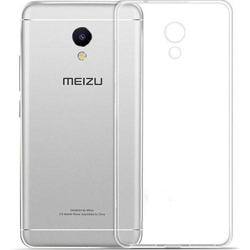 Силиконовый чехол WS Meizu M5s (прозрачный)