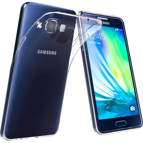 Силиконовый чехол UltraThin Samsung Galaxy A7 (2015) A700 (прозрачный)